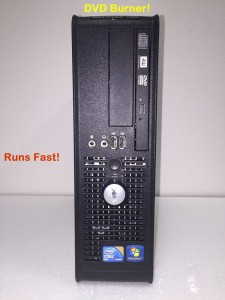 Nice Working Dell Optiplex Desktop with Windows 7. Great for surfing Internet or doing homework.