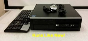 HP 8100 Elite Pro SFF Desktop Core i5 3.2 GHz 4 GB Ram 320 GB HDD W7P Runs like new, freshly installed Windows 7. Inspected and passed by certified IT Tech. No monitor included but available. Call or text for details. (559) 302-8578